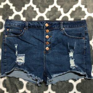 Cute forever21 denim shorts!